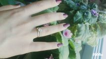 Идеальное кольцо мечты каждой девушки💕💕💕💕💕💕💕💕💕
