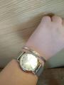 Серебряный браслет с надписью