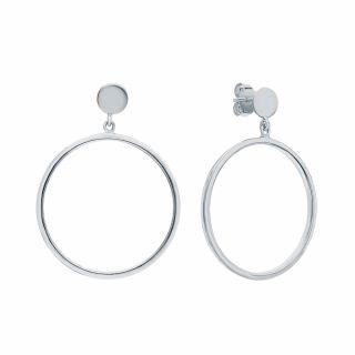 Серебряные серьги: белое серебро 925 пробы — купить в интернет-магазине SUNLIGHT, фото, артикул 171695