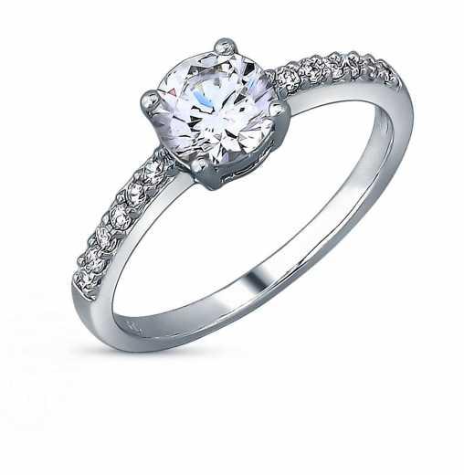2c8bd02b0eb6 Женские серебряные кольца — купить серебряное кольцо для девушки недорого в  интернет-магазине SUNLIGHT в Москве, выбрать женское кольцо из серебра в ...