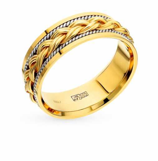 2999c3d72505 Кольцо Белое золото, жёлтое золото 585 пробы. −50% Пушкинский ювелирный  завод