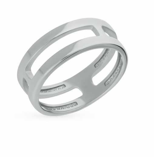 433f770d349a Двойные серебряные кольца — купить недорого в каталоге с фото и ценами —  интернет-магазин SUNLIGHT в Москве