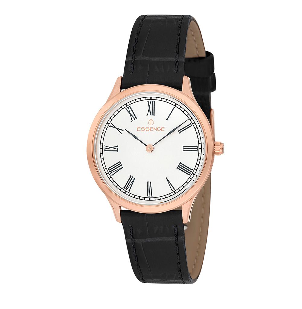 Женские часы ES6402FE.431 на кожаном ремешке с минеральным стеклом