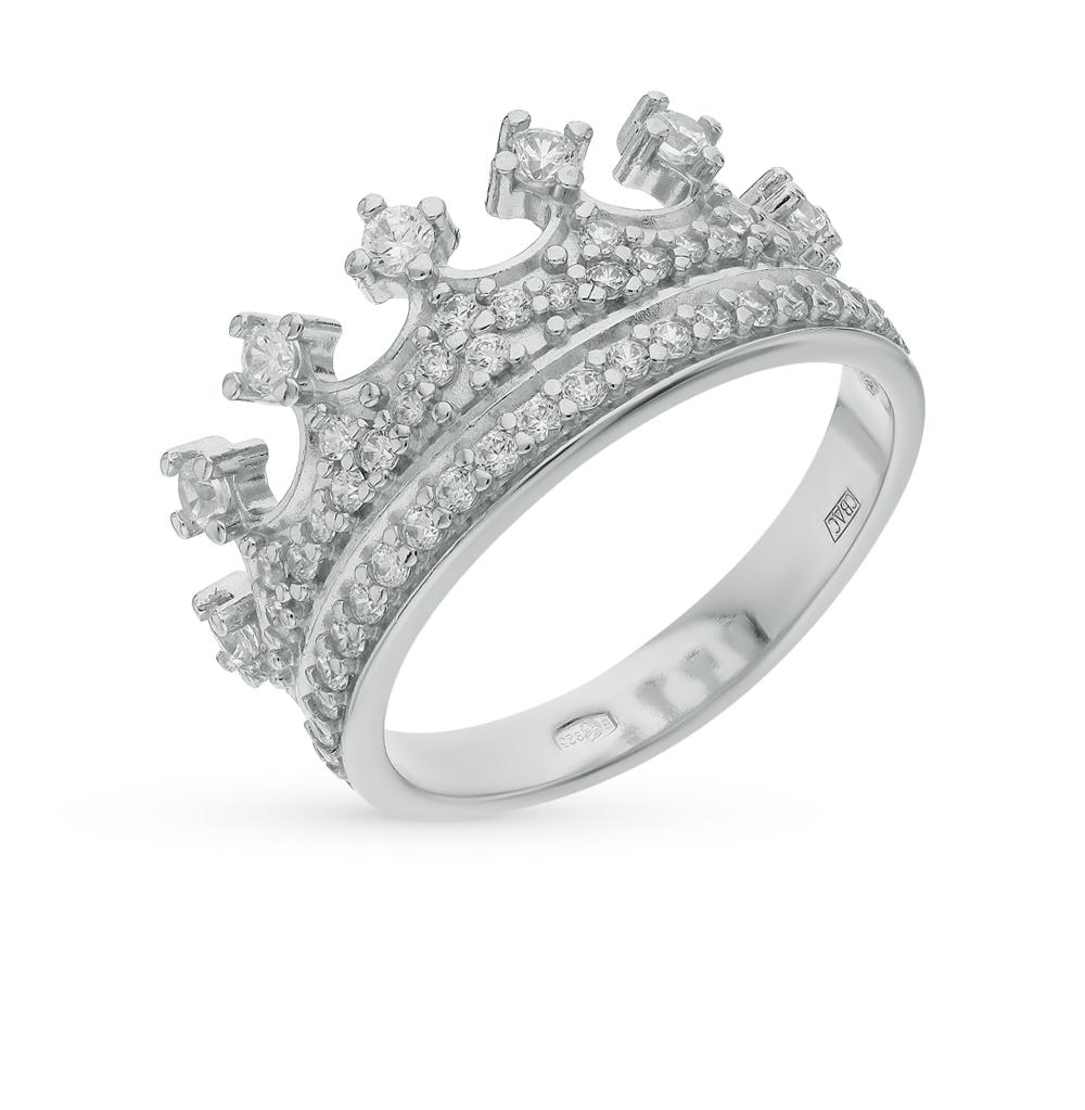 Серебряное кольцо с фианитами SOKOLOV 94011218 в Екатеринбурге