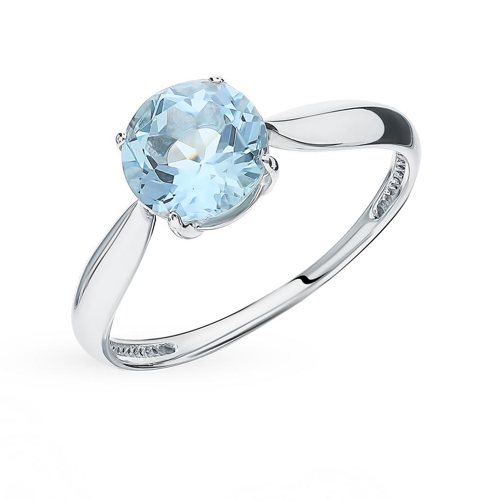 Серебряное кольцо с топазом в Санкт-Петербурге