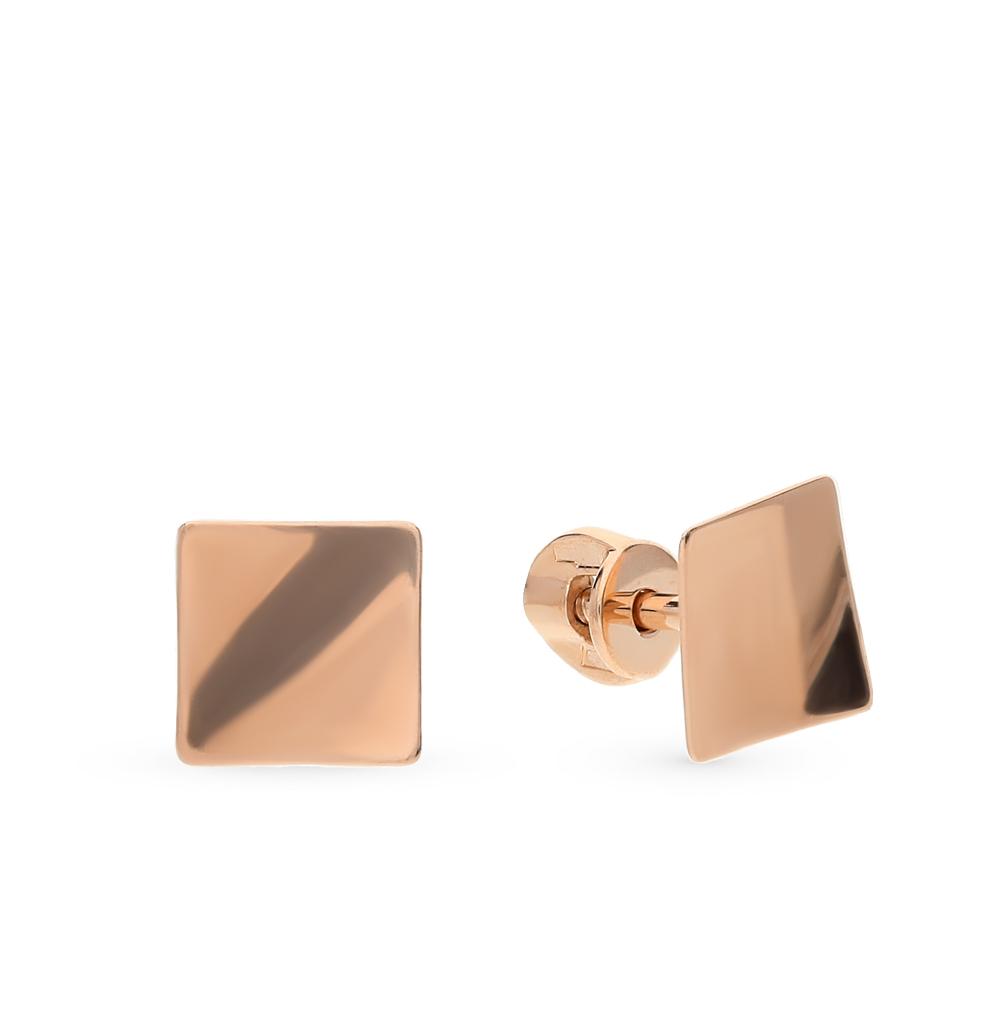 золотые серьги SOKOLOV 026989*
