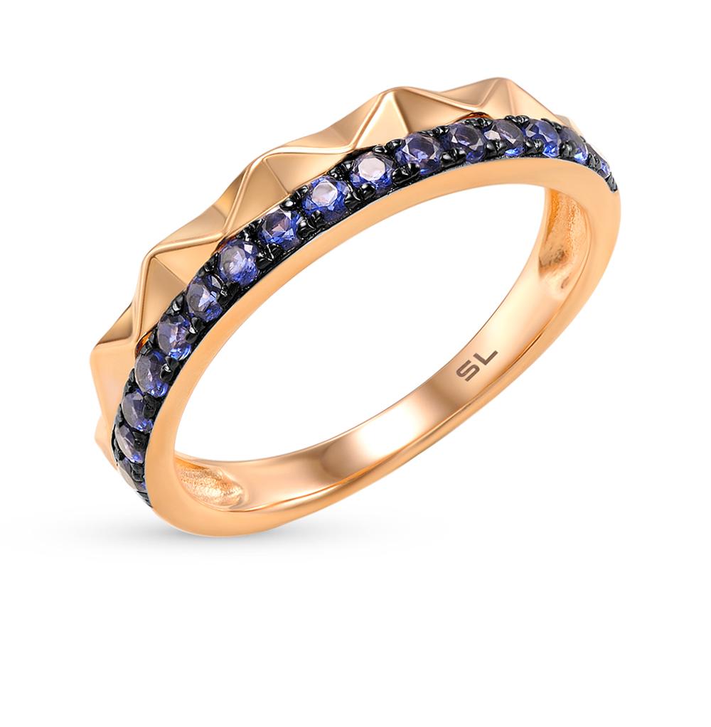 Золотое кольцо с сапфирами в Санкт-Петербурге