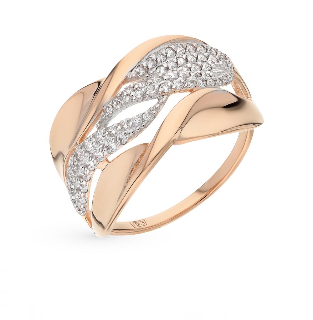 Золотое кольцо с фианитами SOKOLOV 017405* в Санкт-Петербурге