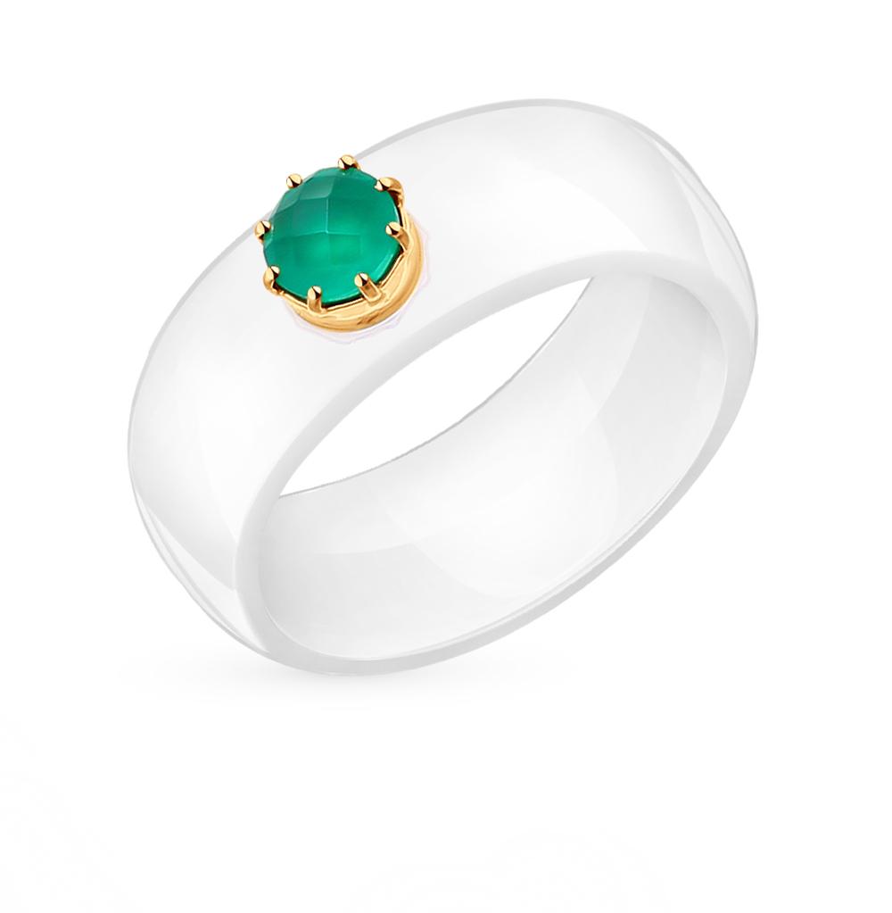 Фото «керамическое кольцо с агатом»