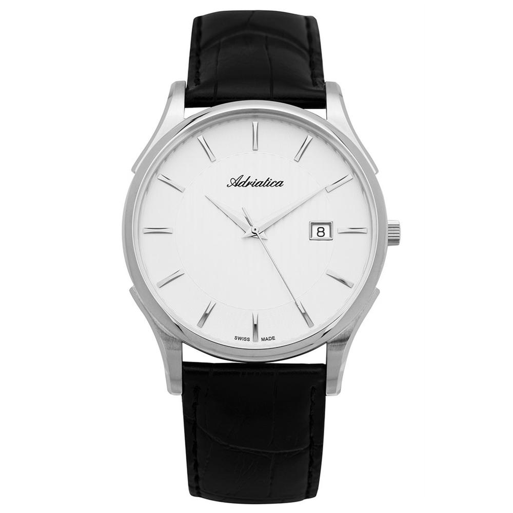 Фото «Мужские часы A1246.5213Q на кожаном ремешке с минеральным стеклом»