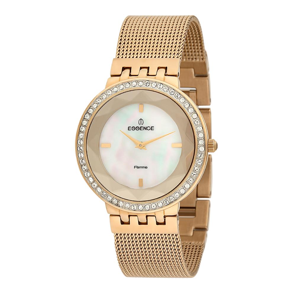 Фото «Женские часы D944.120 на стальном браслете с PVD покрытием с минеральным стеклом»