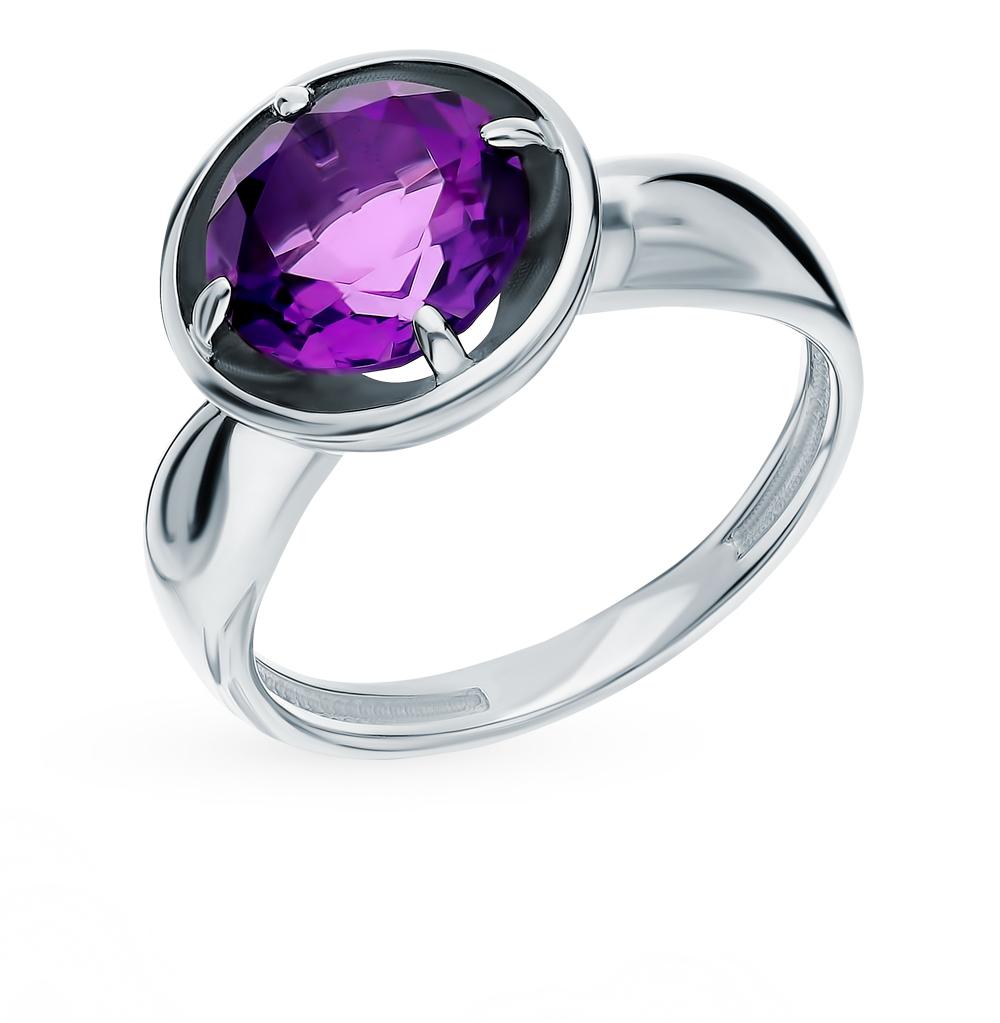 Серебряное кольцо с аметистом в Санкт-Петербурге