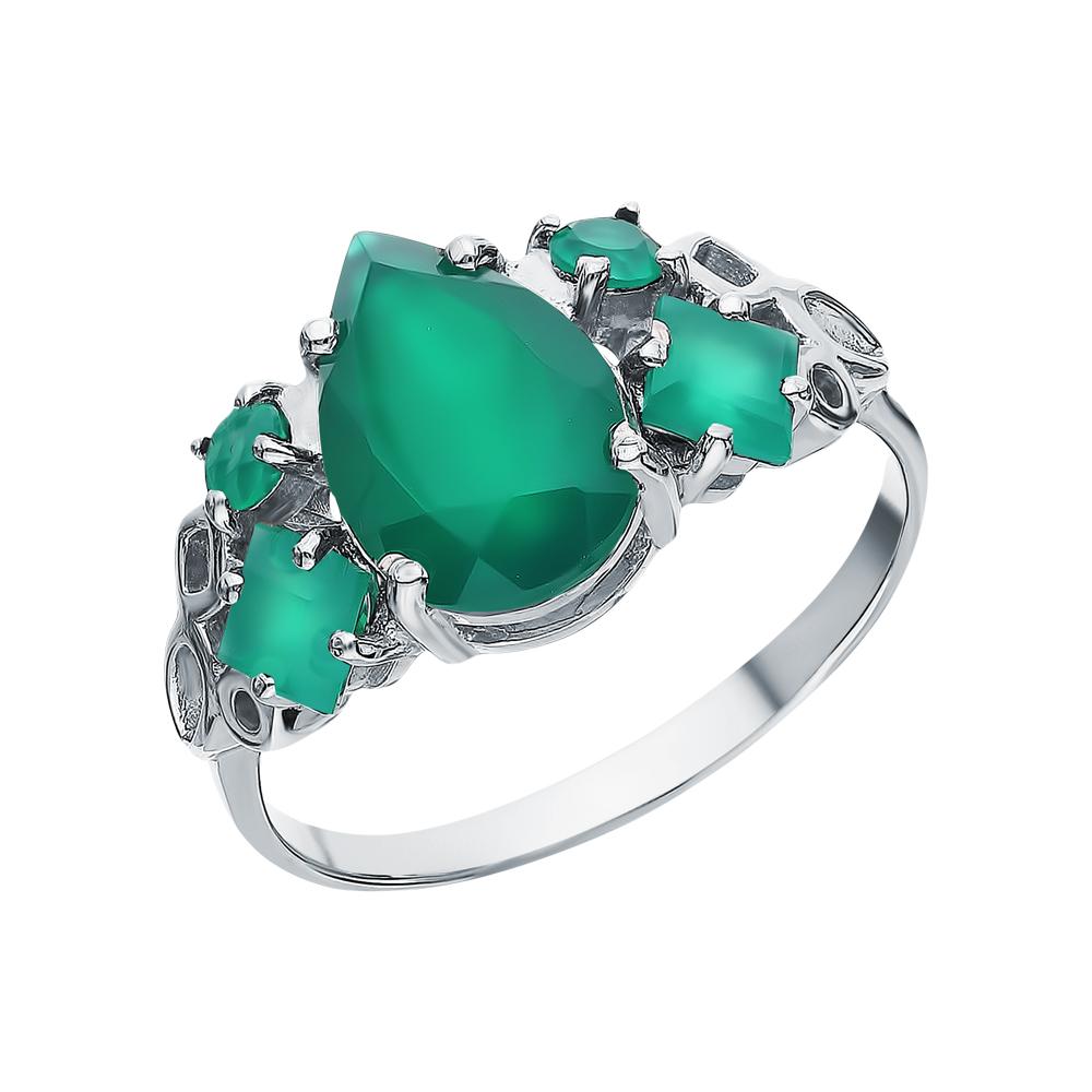 Серебряное кольцо с хризопразами в Санкт-Петербурге
