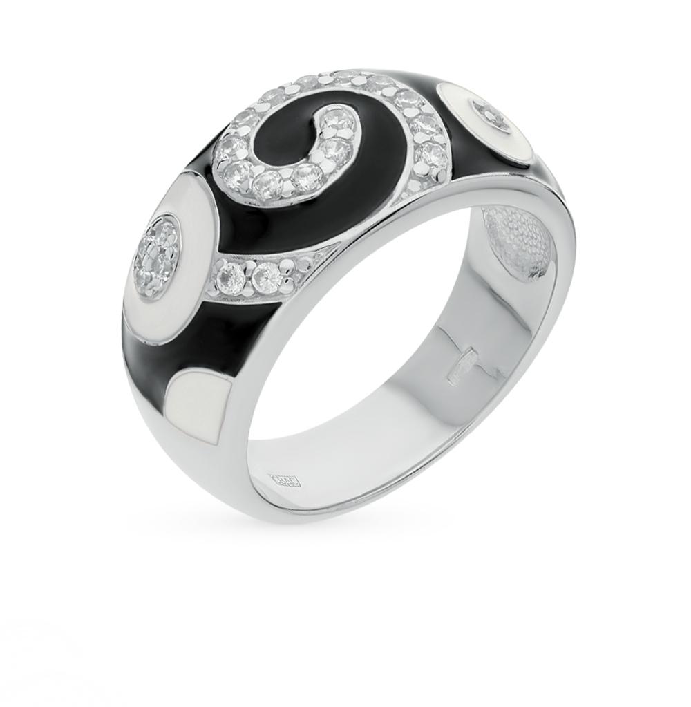 серебряное кольцо с фианитами SOKOLOV 94010397