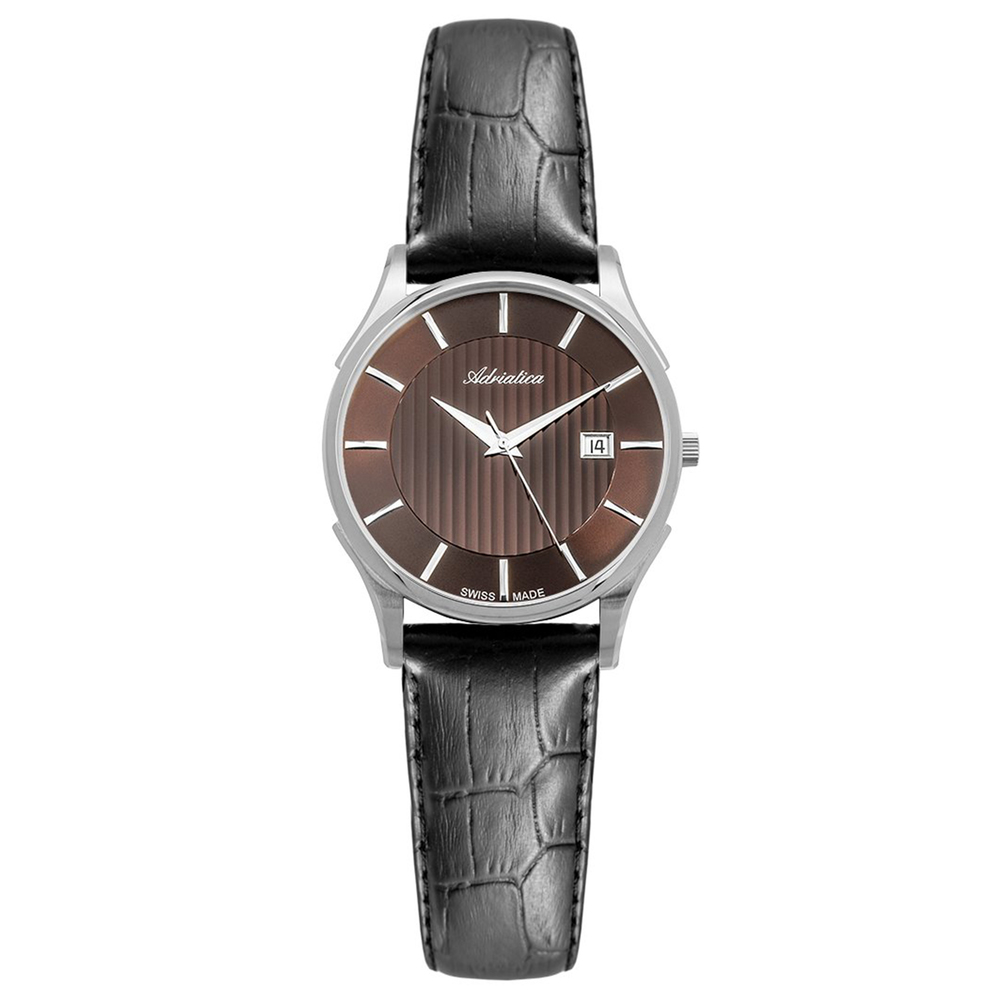 Фото «Женские часы A3146.521GQ на кожаном ремешке с минеральным стеклом»