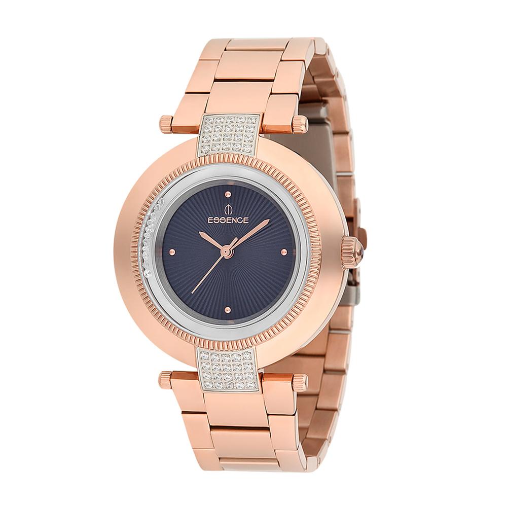 Женские часы ES6386FE.470 на стальном браслете с розовым PVD покрытием с минеральным стеклом в Екатеринбурге