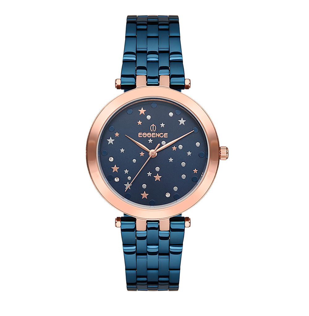 Фото «Женские  кварцевые часы ES6499FE.490 на стальном браслете с минеральным стеклом»