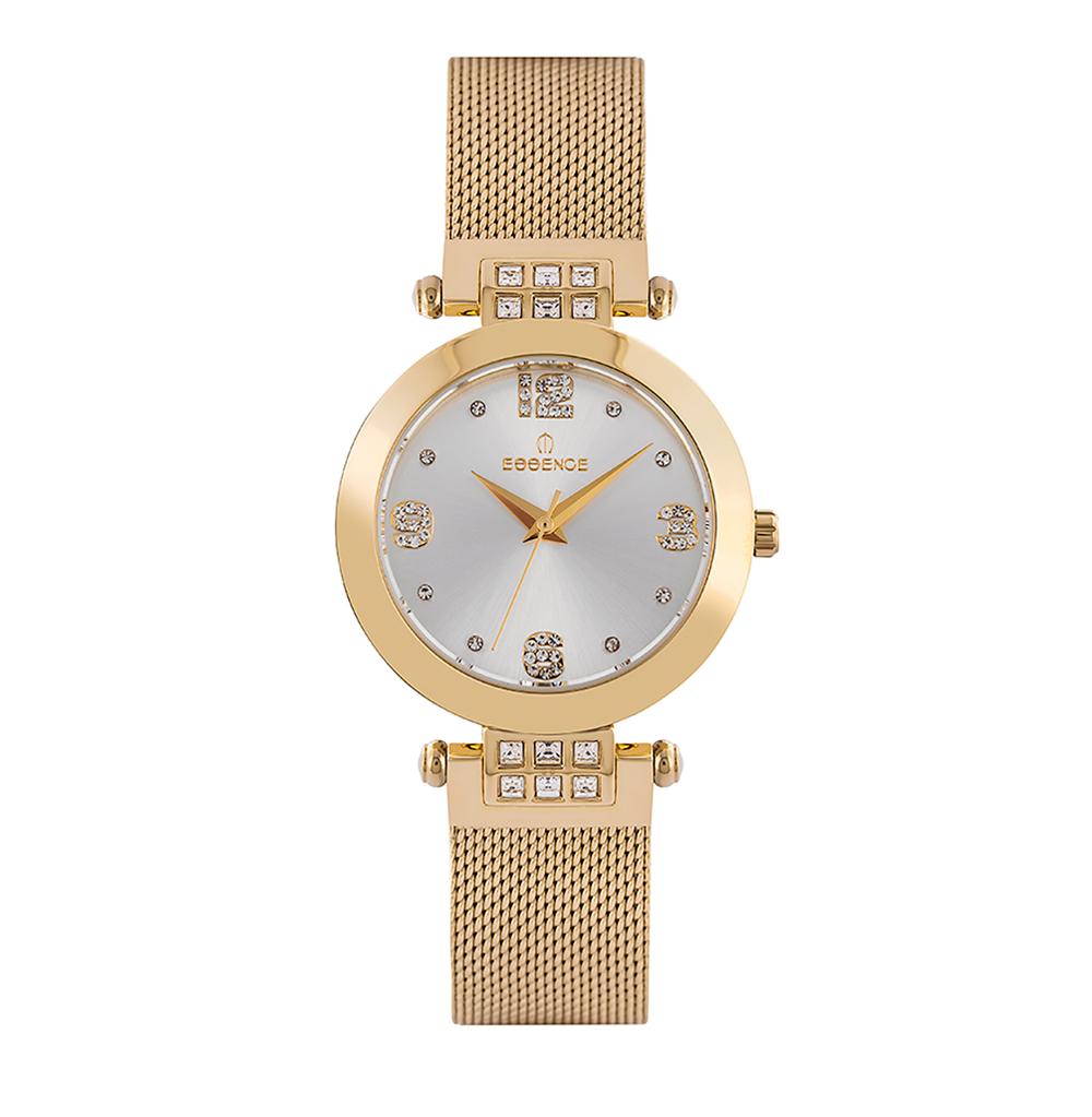Фото «Женские  кварцевые часы ES6547FE.130 на стальном браслете с минеральным стеклом»