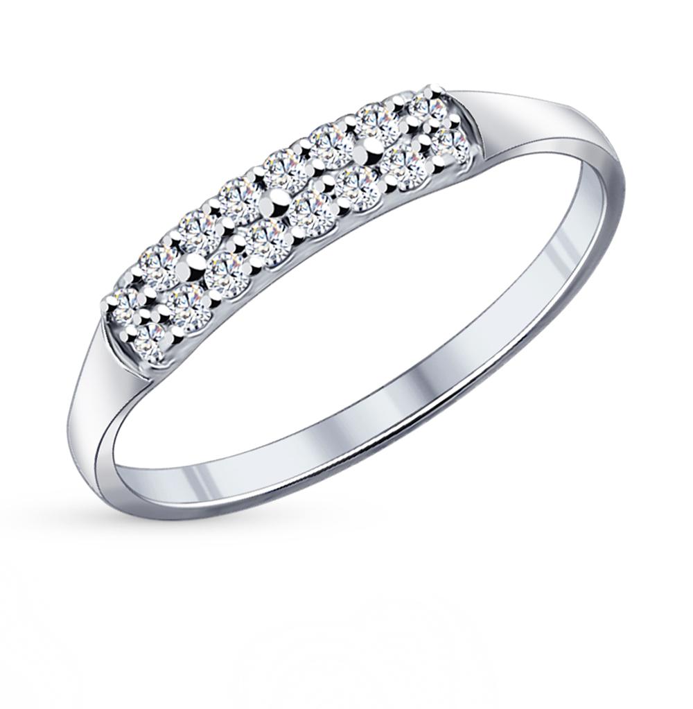 Серебряное кольцо с фианитами SOKOLOV 94011716 в Екатеринбурге
