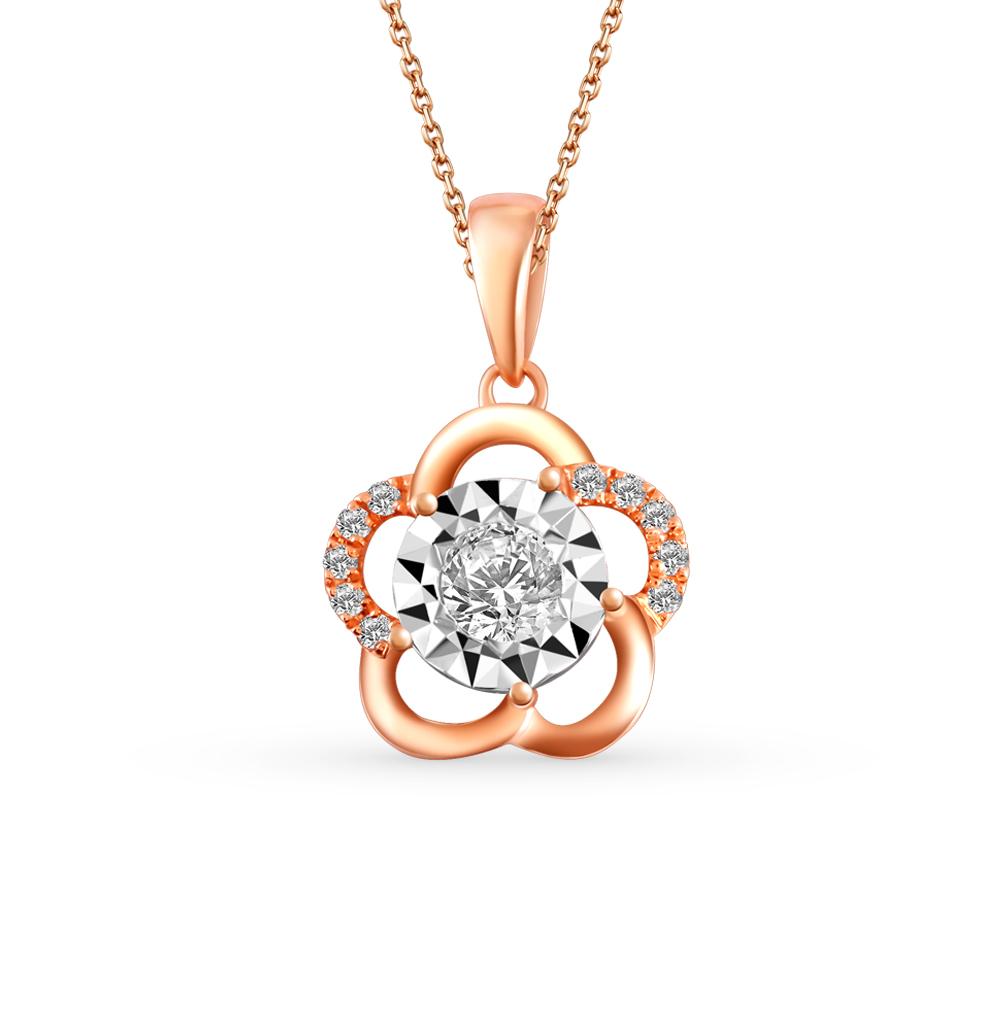 Фото «золото подвеска с бриллиантами»