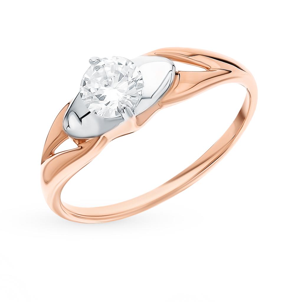 Золотое кольцо с фианитами SOKOLOV 51-110-00107-1* в Екатеринбурге