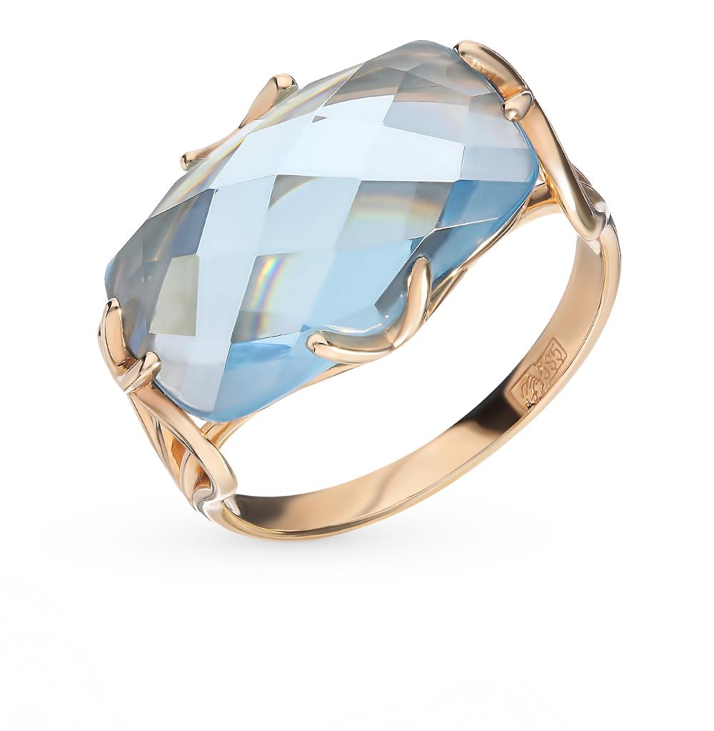 золотое кольцо с нанокристаллами