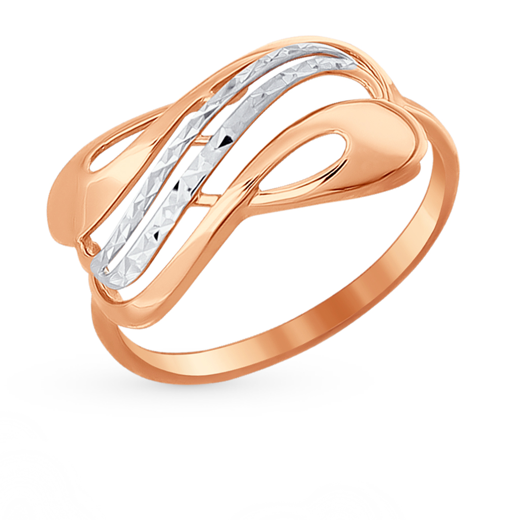 золотое кольцо SOKOLOV 016943*