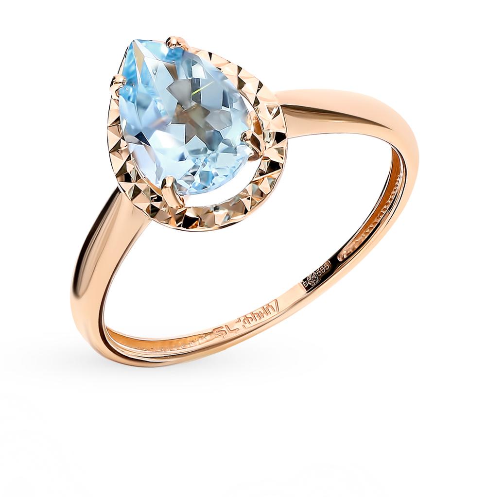 Фото «Золотое кольцо с топазом»