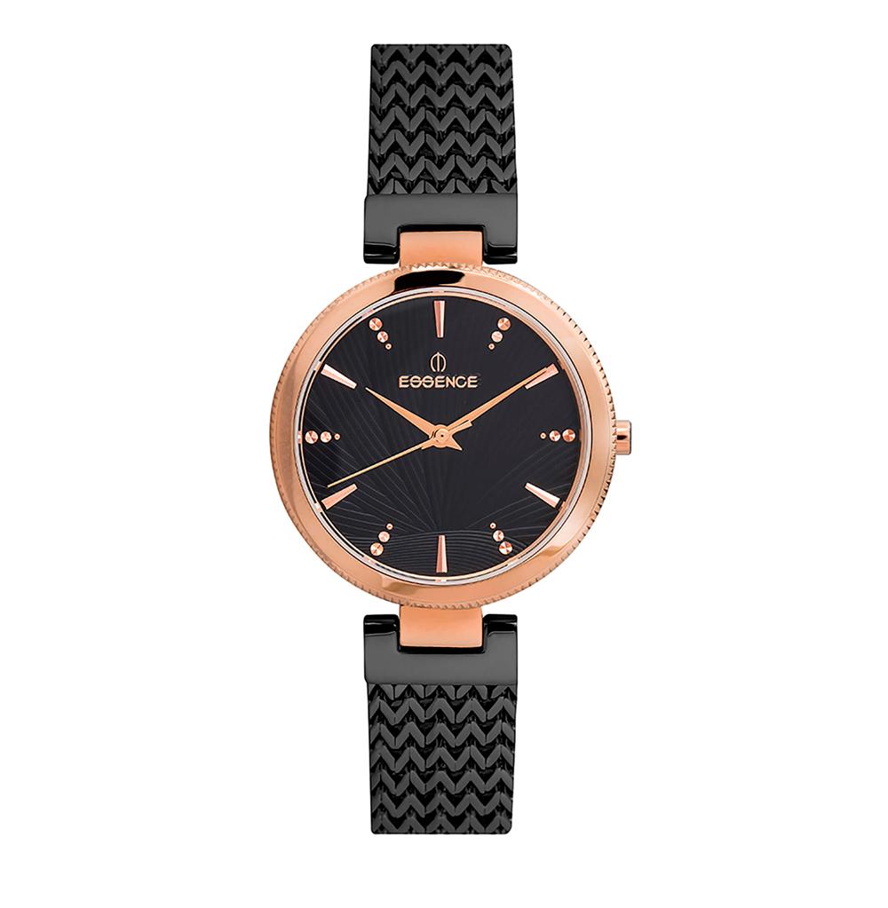 Фото «Женские  кварцевые часы ES6531FE.450 на стальном браслете с минеральным стеклом»