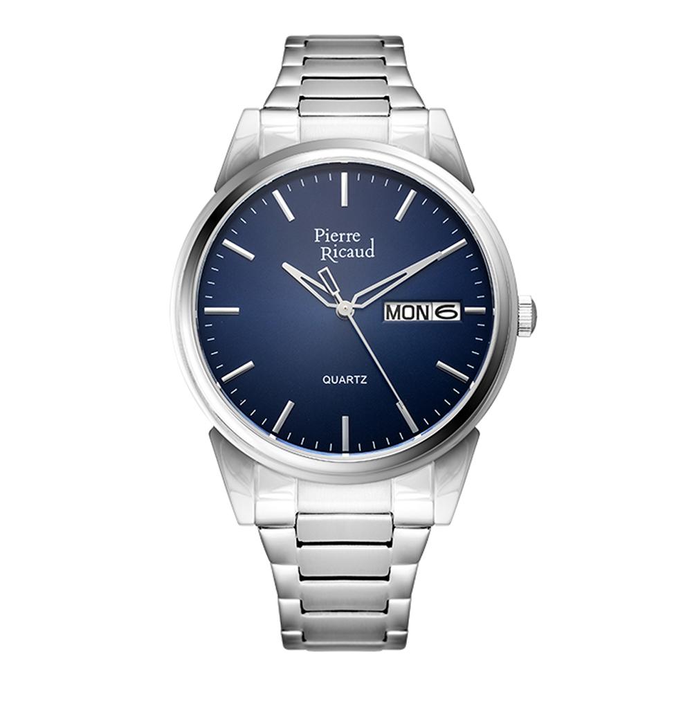 Мужские часы P91067.5115Q на стальном браслете с сапфировым стеклом