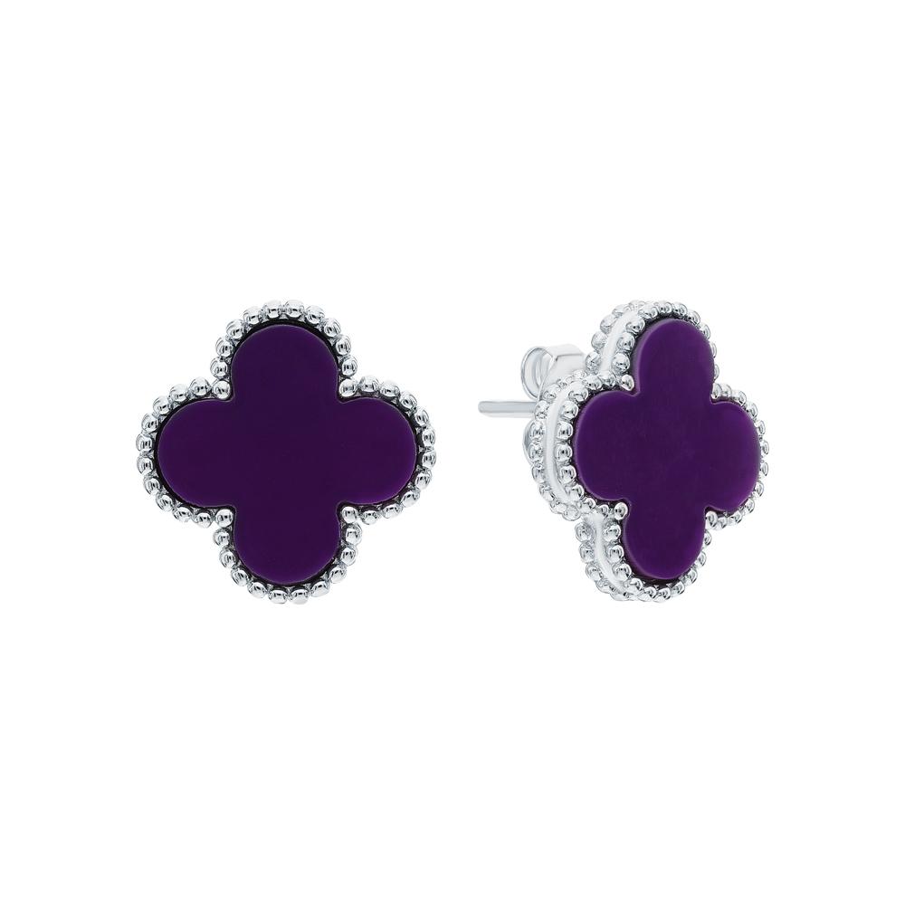Фото «Серебряные серьги с ониксом»