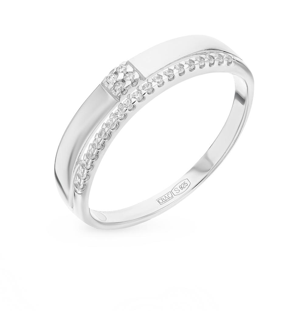 серебряное кольцо с фианитами SOKOLOV 94012213