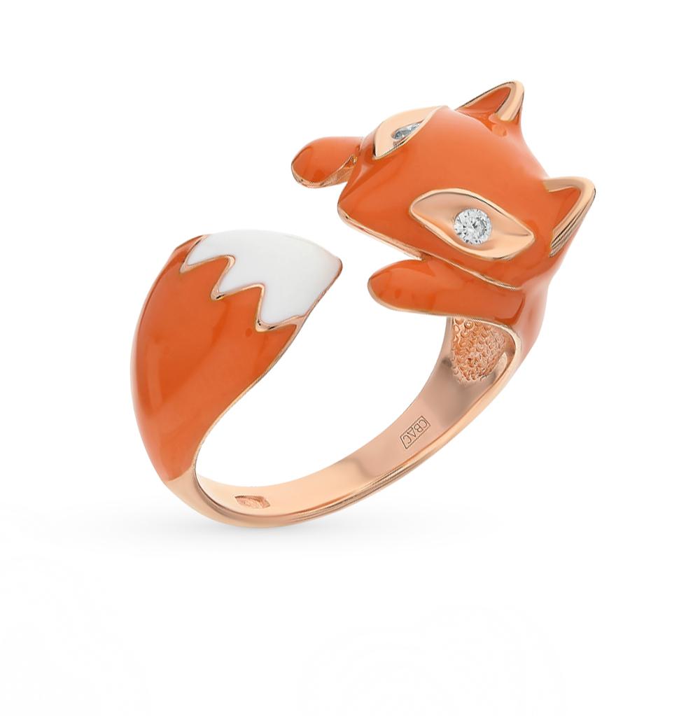 Фото «Серебряное кольцо с фианитами SOKOLOV 93010511»