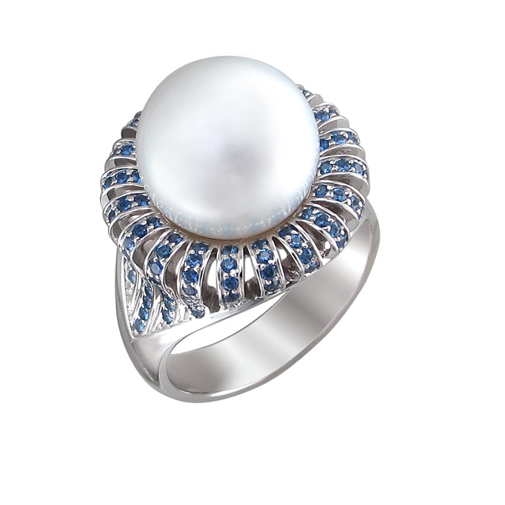 Золотое кольцо с жемчугами культивированными в Санкт-Петербурге