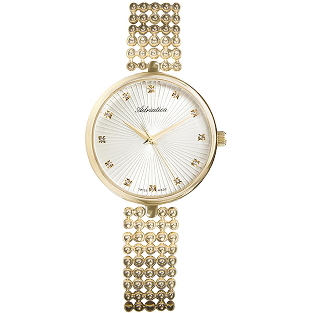 Фото «Женские часы A3731.1143Q на стальном браслете с PVD покрытием с минеральным стеклом»
