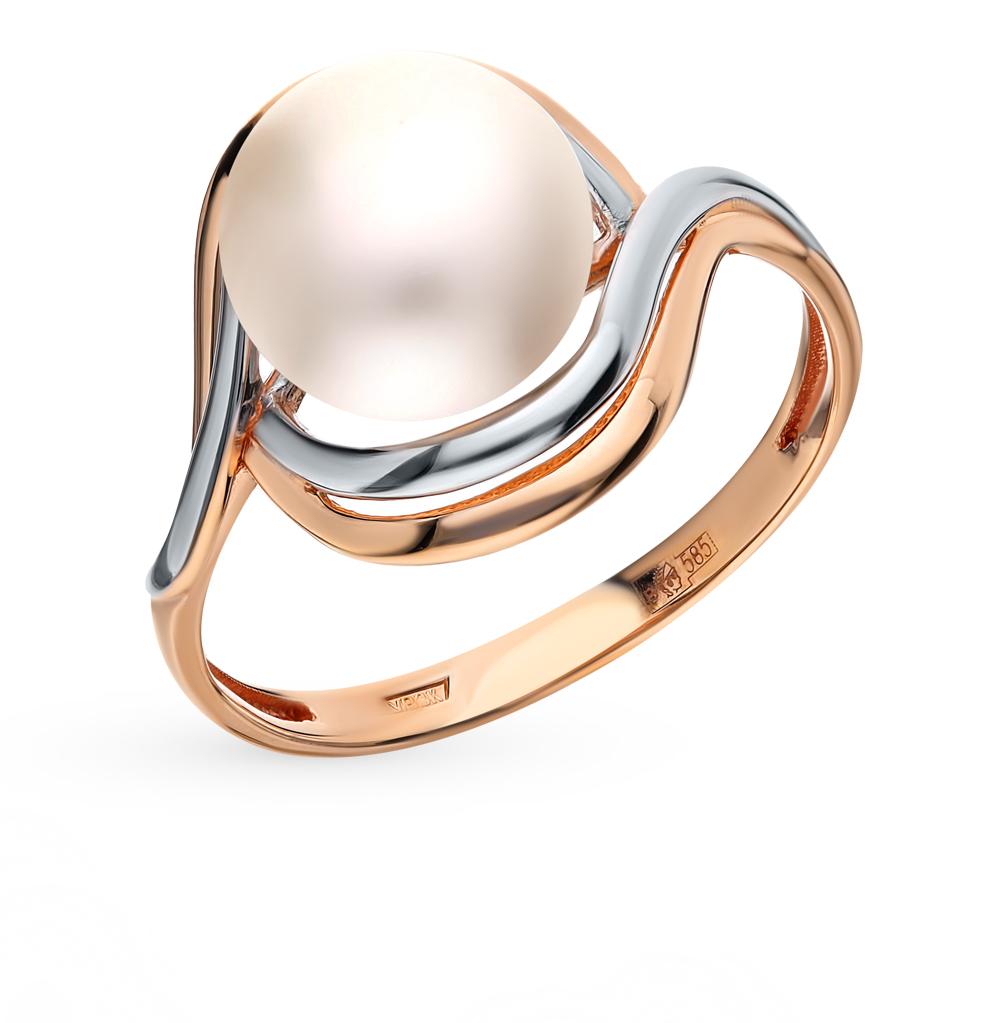 Золотое кольцо с жемчугом в Санкт-Петербурге