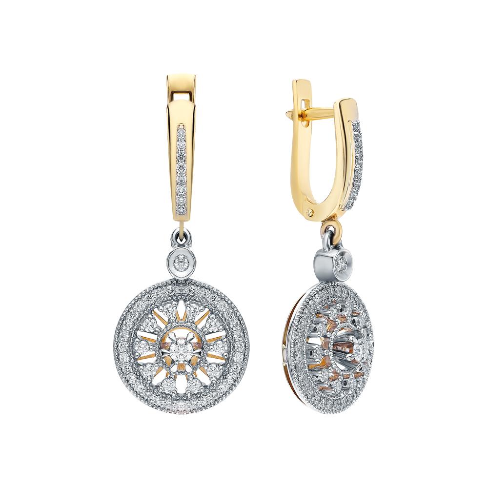 Серьги с бриллиантами в Екатеринбурге