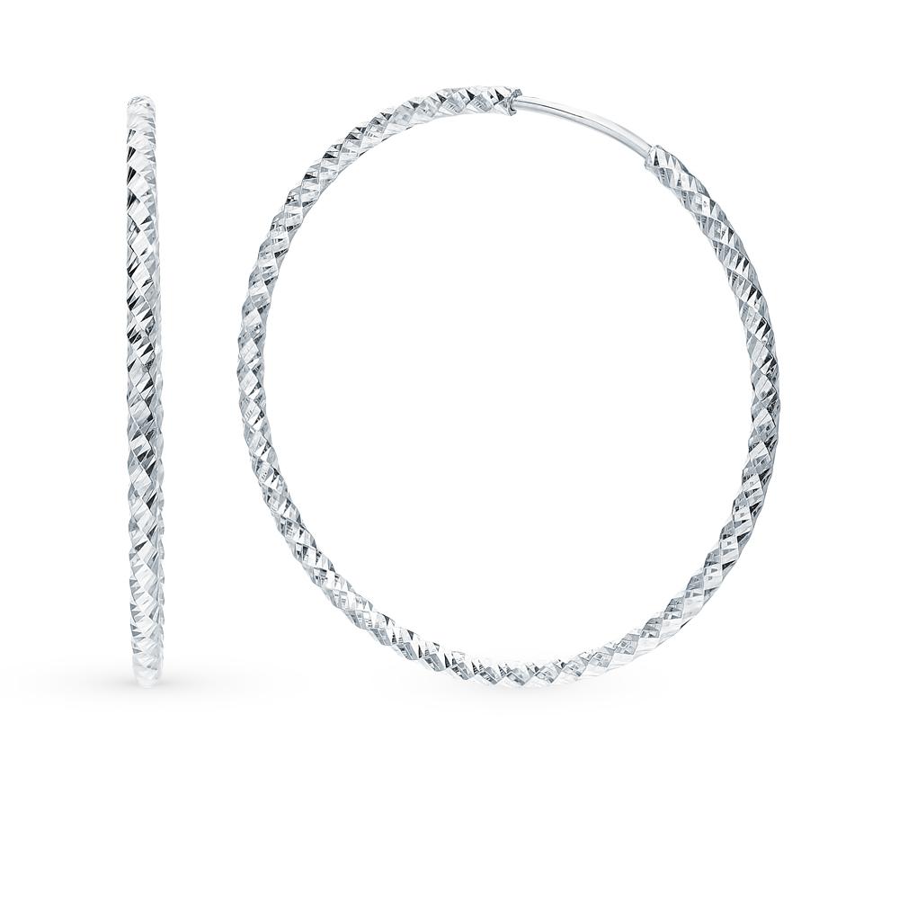 серебряные серьги SOKOLOV 94140031