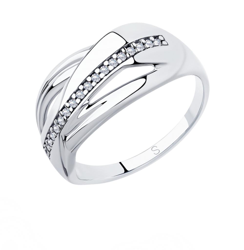Серебряное кольцо с фианитами SOKOLOV 94012880 в Екатеринбурге