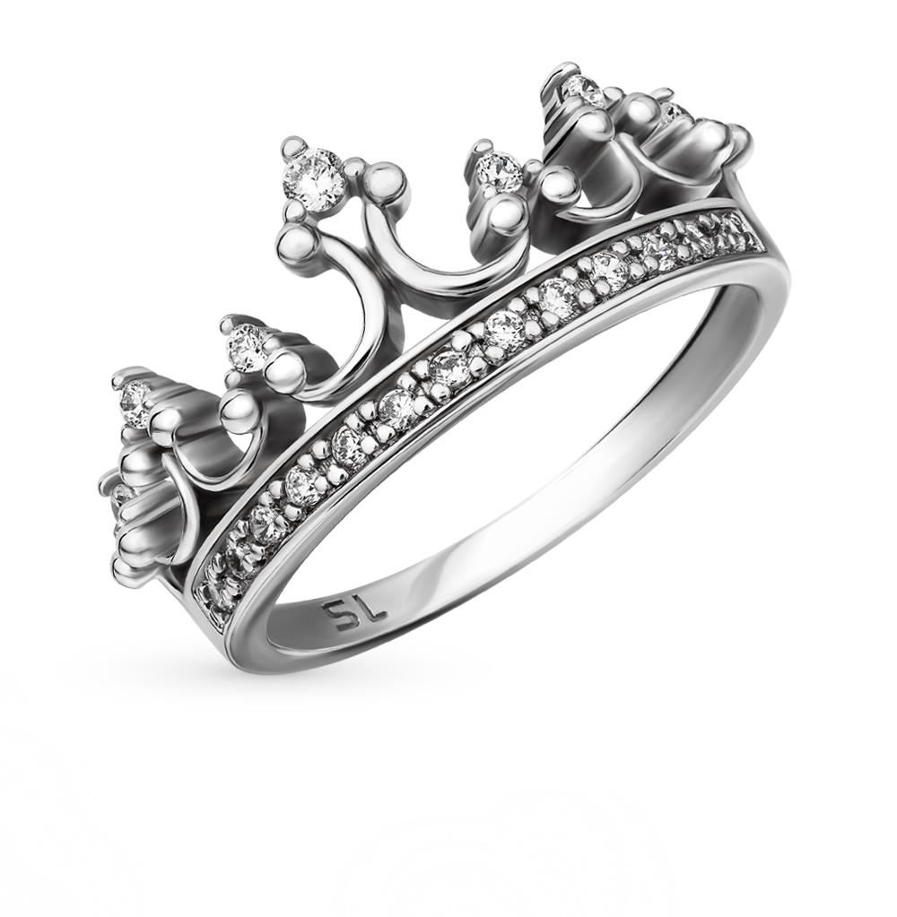 Обручальные серебряные кольца санлайт