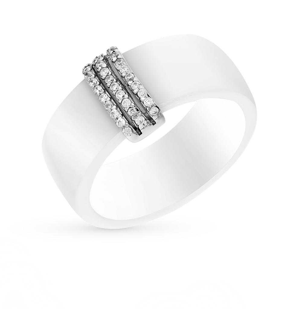 Фото «кольцо из керамики и серебра с алпанитом»