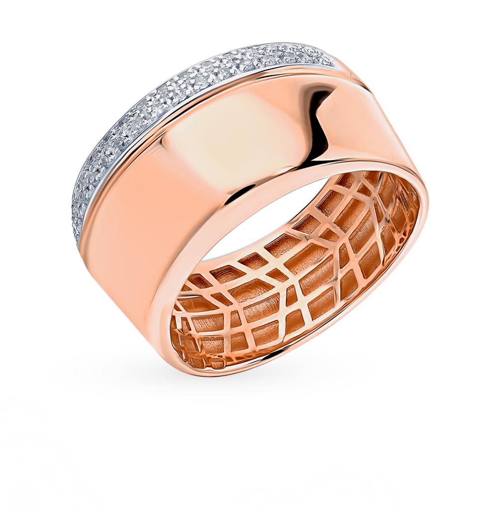 золотое кольцо с бриллиантами SOKOLOV 1011961