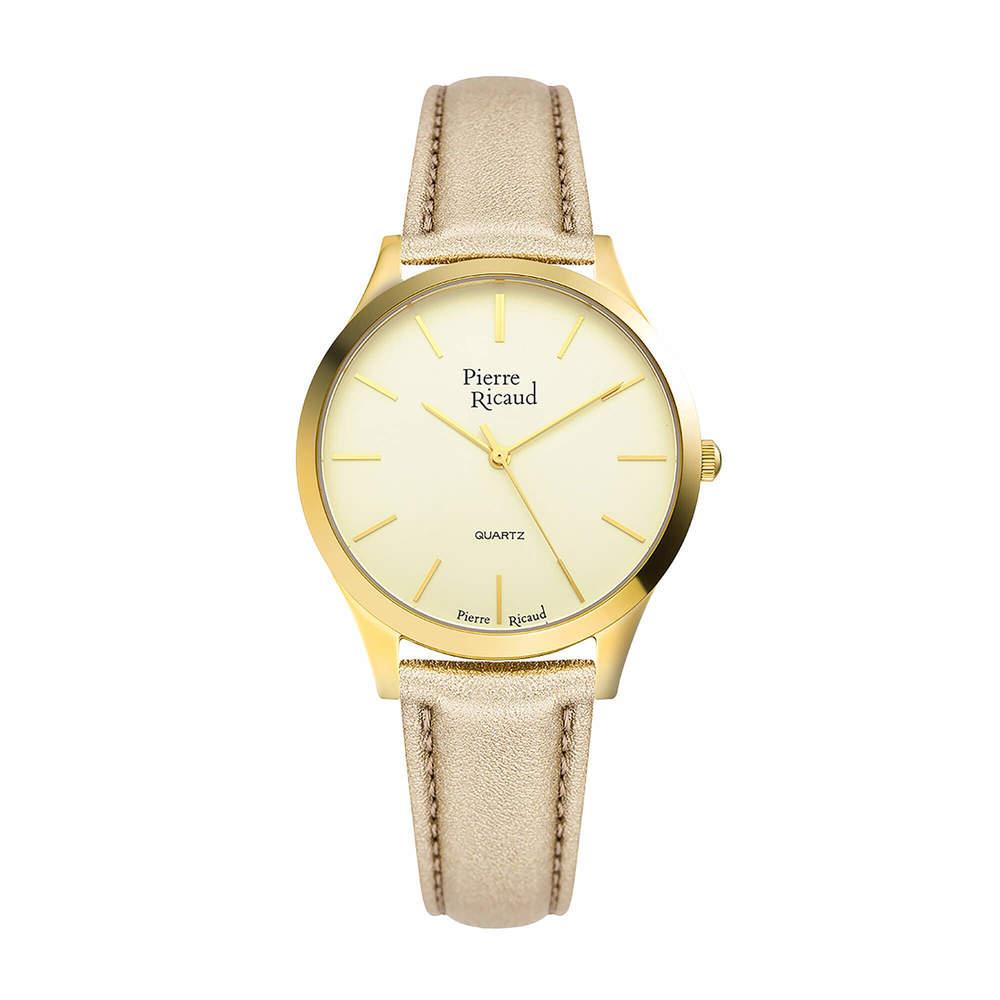 Фото «Женские кварцевые часы P22000.1D11Q на кожаном ремешке с минеральным стеклом»