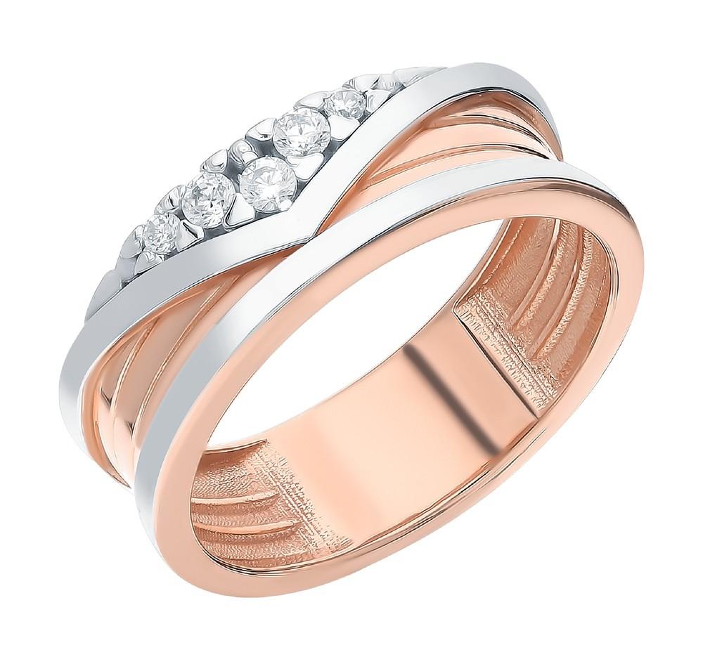 Серебряное кольцо с фианитами в Екатеринбурге
