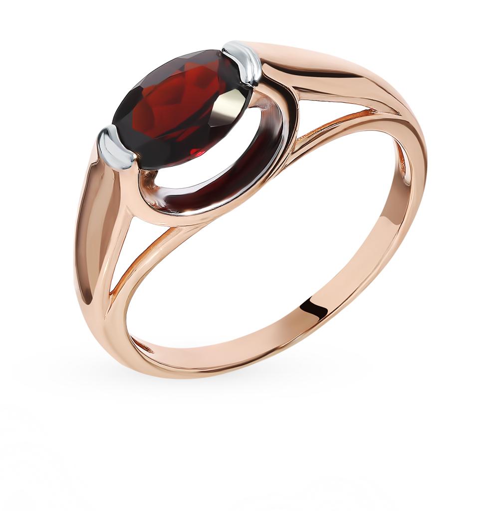 Золотое кольцо с гранатом в Санкт-Петербурге