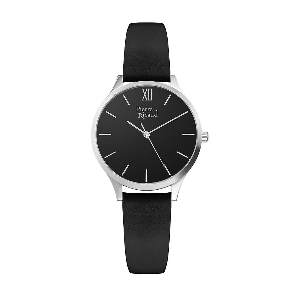 Фото «Женские кварцевые часы P22033.5264Q на кожаном ремешке с минеральным стеклом»