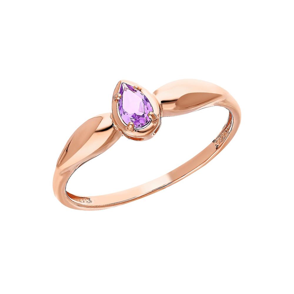 Фото «Золотое кольцо с аметистом»