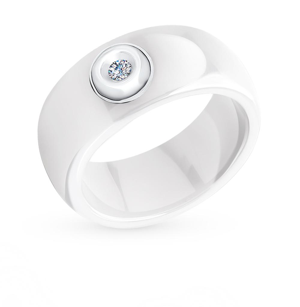Фото «Золотое кольцо с бриллиантами SOKOLOV 6015014»