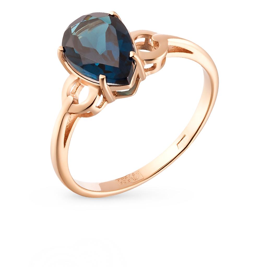 Фото «золотое кольцо с со шпинелью»