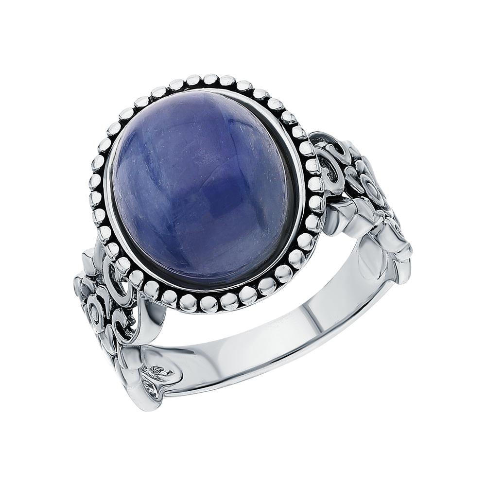 Фото «Серебряное кольцо с кианитами»